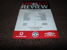 Manchester United Reserves v Leeds United Reserves, 2001/02